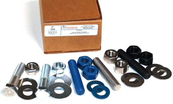 Flange Bolt Packs- Stud Kits with your Gasket selection